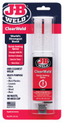 J-B Weld Cold Weld Compounds, 25 mL ClearWeld Syringe Skin Packed, Clear, 6/PK