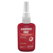Loctite 262 Threadlockers, Medium to High Strength, 50 mL, Red, 1/BTL