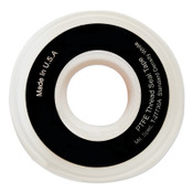 Anchor Products White Thread Sealant Tapes, 1/4 in x 1,296 in, 1/RL