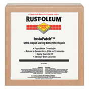 Rust-Oleum Industrial Concrete Saver InstaPatch Concrete Repair Compounds, 16 oz, Gray, 4/case, 1/EA