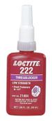 Loctite 222 Threadlockers, Low Strength/Small Screw, 10 mL, Purple, 1/EA