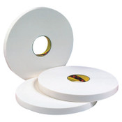 3M Double Coated Urethane Foam Tapes 4016, 1 in x 36 yd, 1/16 in, Natural, 1/RL, #7000048480