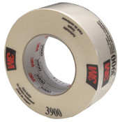 3M Duct Tapes 3900, White, 5.56 in x 5.56 in x 7.7 mil, 1/RL