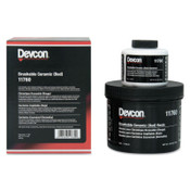 Devcon Brushable Ceramic, 2 lb, Red, 1/EA