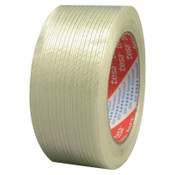 Tesa Tapes Performance Grade Filament Strapping Tape, 3/4 in x 60 yd, 155 lb/in Strength, 1/ROL