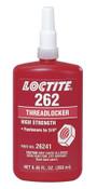 Loctite 262 Threadlockers, Medium to High Strength, 250 mL, Red, 1/BTL
