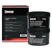 Devcon DFense Blok Quick Patch Sealants, 1 lb Container, Gray, 6/CA