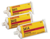 Loctite 3414 Speedbonder  Structural Adhesive, Non-Sag, 50 mL, Yellow, 1/CTG
