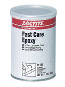 Loctite Fixmaster Fast Cure Epoxy, Mixer Cup, 0.12 oz, Capsule, Grey, 1/CAN