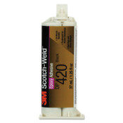 3M Scotch-Weld Two-Part Epoxy Adhesives, 37 mL, Duo-Pak, Off-White, 1/EA