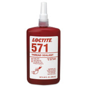 Loctite 571 Thread Sealant, Pipe Sealant HVV, 250 mL Tube, Brown, 1/BTL
