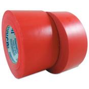 Berry Global 833 Multi-Purpose PE Film Tapes, 48 mm X 55 m, 7.5 mil, Red, 24/CA