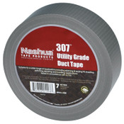 Berry Global 307 Utility Grade Duct Tapes, Silver, 48 mm x 55 m x 7 mil, 1/RL
