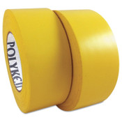Berry Global 833 Multi-Purpose PE Film Tapes, 48 mm X 55 m, 7.5 mil, Yellow, 24/CA