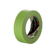 3M High Performance Masking Tapes 401+, 6 mm x 55 m, Green, 1/RL