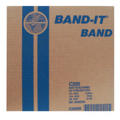 Band-It Stainless Steel Bands, 5/8 in x 100 ft, 0.03 in Stainless Steel 201, 1/RL, #C20599