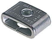 Band-It Scru-Lokt Buckles, 1/4 in, Stainless Steel 301, 50 per pack, 50/BOX, #C72099