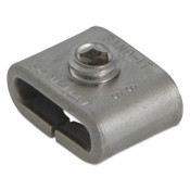 Band-It Scru-Lokt Buckles, 1/2 in, Stainless Steel, 25/BOX, #C72499