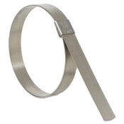 Band-It CP Series Center Punch Clamps, 3 in Dia, 5/8 in Wide, Stainless Steel 201, 50/BX, #CP12S9