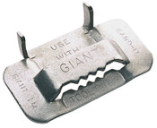 Band-It Giant Buckles, 3/4 in, Stainless Steel 201/301, 25 per pack, 25/BOX, #G44099