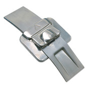 Band-It Ultra-Lok Buckles, 1/2 in, Stainless Steel, 100/BX, #UB2549