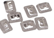 Band-It Ultra-Lok Buckles, 3/4 in, Stainless Steel 201, 100 per box, 100/BX, #UB2569