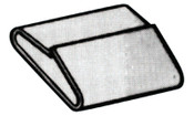 Strapbinder Specialty Seals, 3/4 in, Stainless Steel 304, 1000/CT, #ST1534SS