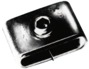 Strapbinder Screwbinder Buckles, 3/8 in, Stainless Steel 201, 50/BOX, #ST722
