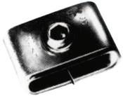 Strapbinder Screwbinder Buckles, 1/2 in, Stainless Steel 201, 25/BOX, #ST724