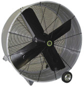 Airmaster Fan Company Portable Belt Drive Mancoolers, 4 Blades, 48 in, 385 rpm, 1 EA, #60019
