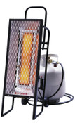 HeatStar Portable Radiant Heater, 35,000 Btu/h, 12 h, 1 EA, #HS35LP