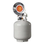 HeatStar Portable Propane Radiant Heaters, 14,000 Btu/h, 1.5 h, 1 EA, #MH15T