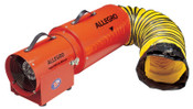 Allegro AC Com-Pax-Ial Blowers w/Canister, 1/3 hp, 115 V, 15 ft. Ducting, 1 EA, #953415