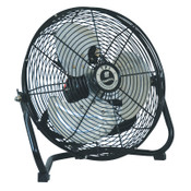 TPI Corp. Commercial Floor Fans, 12 in, 1/5 hp, Steel, 1 EA, #CF12