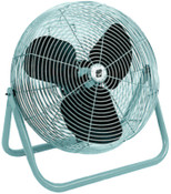 TPI Corp. Industrial Floor Fans, 12 in, 1/2 hp, 3-Speed, 1 EA, #F12TE