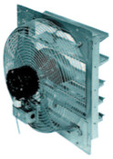 "TPI Corp. 24"" DIRECT DRIVE SHUTTERMOUNTED EXHAUST FAN, 1 EA, #CE24DS"