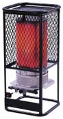 HeatStar Portable Radiant Heater, 125,000 Btu/h, 17 h, 1 EA, #HS125N