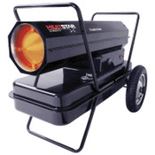 HeatStar Portable Kerosene Forced Air Heaters, 210,000 Btu/h, 14 gal, 110 V, 1 EA, #HS210KT