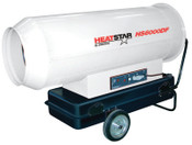 HeatStar Portable Diesel Direct-Fired Heaters, 35.6 gal, 115 V, 1 EA, #HS6000DF