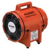 Allegro Plastic Com-Pax-Ial Blowers, 1/3 hp, 115 VAC, 5 ft. Electric Cord, 1 EA, #9533