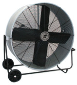 TPI Corp. Direct Drive Portable Blowers, 3 Blades, 36 in, 1,050 rpm, Swivel Mode, 1 EA, #PBS36D
