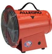 Allegro AC Axial Blowers, 1/3 hp, 115 V, 1 EA, #9513