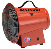 Allegro DC Axial Blowers, 1/4 hp, 12 VDC, 15 ft. Cord w/Alligator Clips, 1 EA, #9506