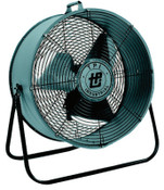 TPI Corp. Mini Blower Fans, 3 Blades, 24 in, 5,000 CFM, 1 EA, #MB24DF