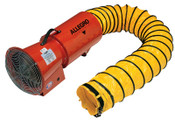 Allegro AC Axial Blowers w/Canister, 1/3 hp, 115 V, 15 ft. Ducting, 1 EA, #9514
