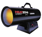 HeatStar Portable Propane Forced Air Heater, 35,000 Btu/h, 115 V, 1 EA, #HS35FA