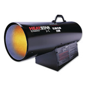 HeatStar Portable Natural Gas Forced Air Heater, 150,000 Btu/h, 115 V, 1 EA, #F170180