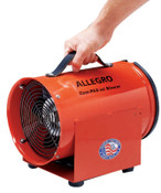 Allegro AC Com-Pax-Ial Blowers, 1/3 hp, 115 V, 1 EA, #9534