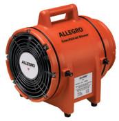 Allegro Plastic Com-Pax-Ial Blowers, 1/4 hp, 12 VDC, 15 ft. Cord w/Alligator Clips, 1 EA, #9536