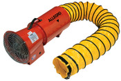 Allegro DC Axial Blowers w/Canister, 1/4 hp, 12 VDC, 15 ft. Ducting, 1 EA, #950601